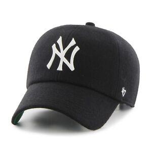 47 Brand New York Yankees Droper '47 Clean Up Black