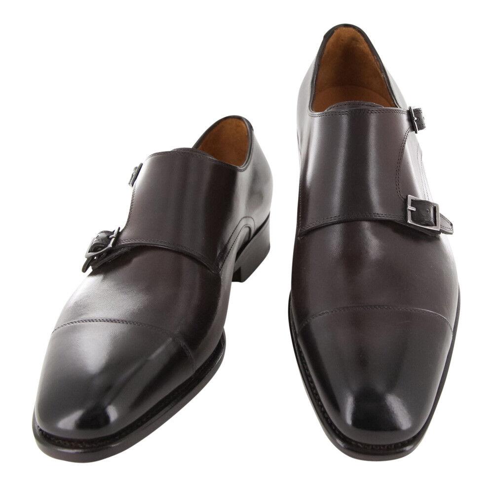 rivenditore di fitness New  1250 Fiori Fiori Fiori Di Lusso Marrone scarpe - Monk Straps - (LONDONBRN)  tutto in alta qualità e prezzo basso