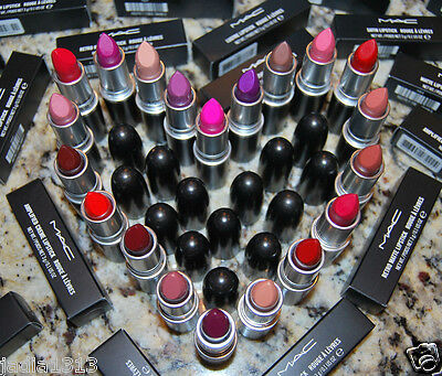 New MAC Lipstick Choose Your Shade 100% AUTHENTIC or Money Back