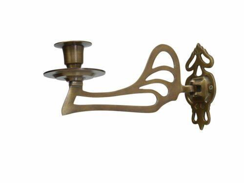 Bougeoir mur-bougeoirs de piano chandeliers rétro laiton mat 5913