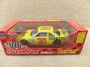 New 1996 Racing Champions 1:24 Scale Diecast NASCAR Johnny Benson Jr Pennzoil