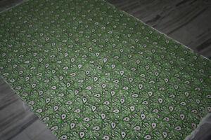 Persian-Turkish-Afghan-Vintage-Kilim-Rug-Cotton-Block-Print-Bohemian-Hand-Made