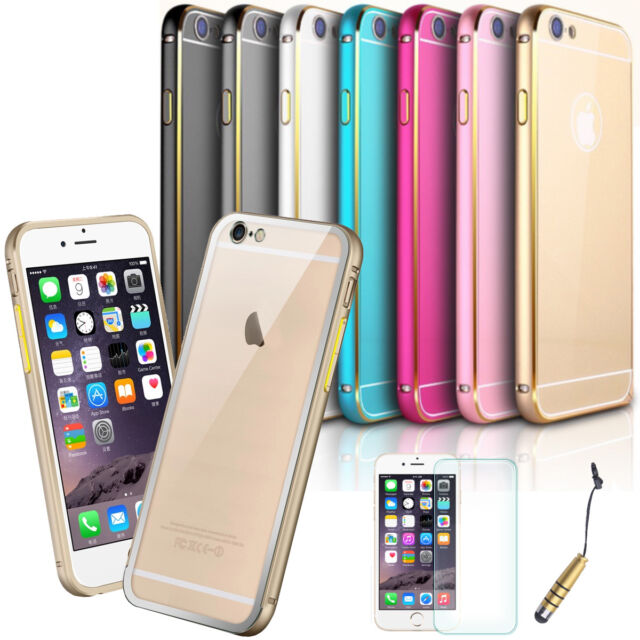 High Quality Aluminum Metal Luxury Slim Case for Apple iPhone 6 / 6 Plus #A4