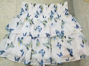 Alice-in-Wonderland-Skirt-Disney-Through-the-Looking-Glass-Butterflies-Medium-Jr
