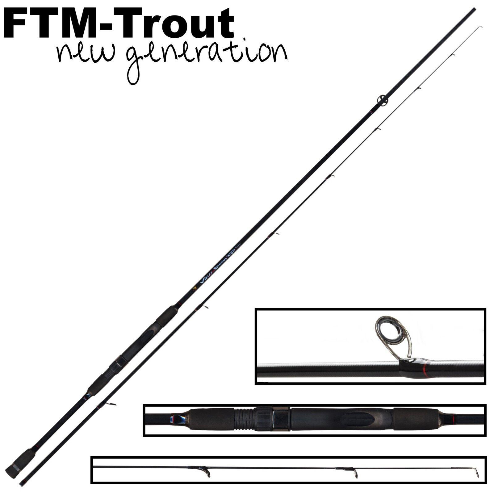 FTM Virus Spoon XP 5 2,20m 1-6g - Spinnrute, Spinnrute, Spinnrute, Ultra Light Rute, Forellenrute d15495