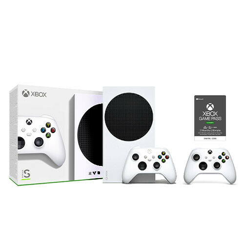 Xbox Series S Console + Extra Controller + Game Pass Ultimate 3 Month (Email)
