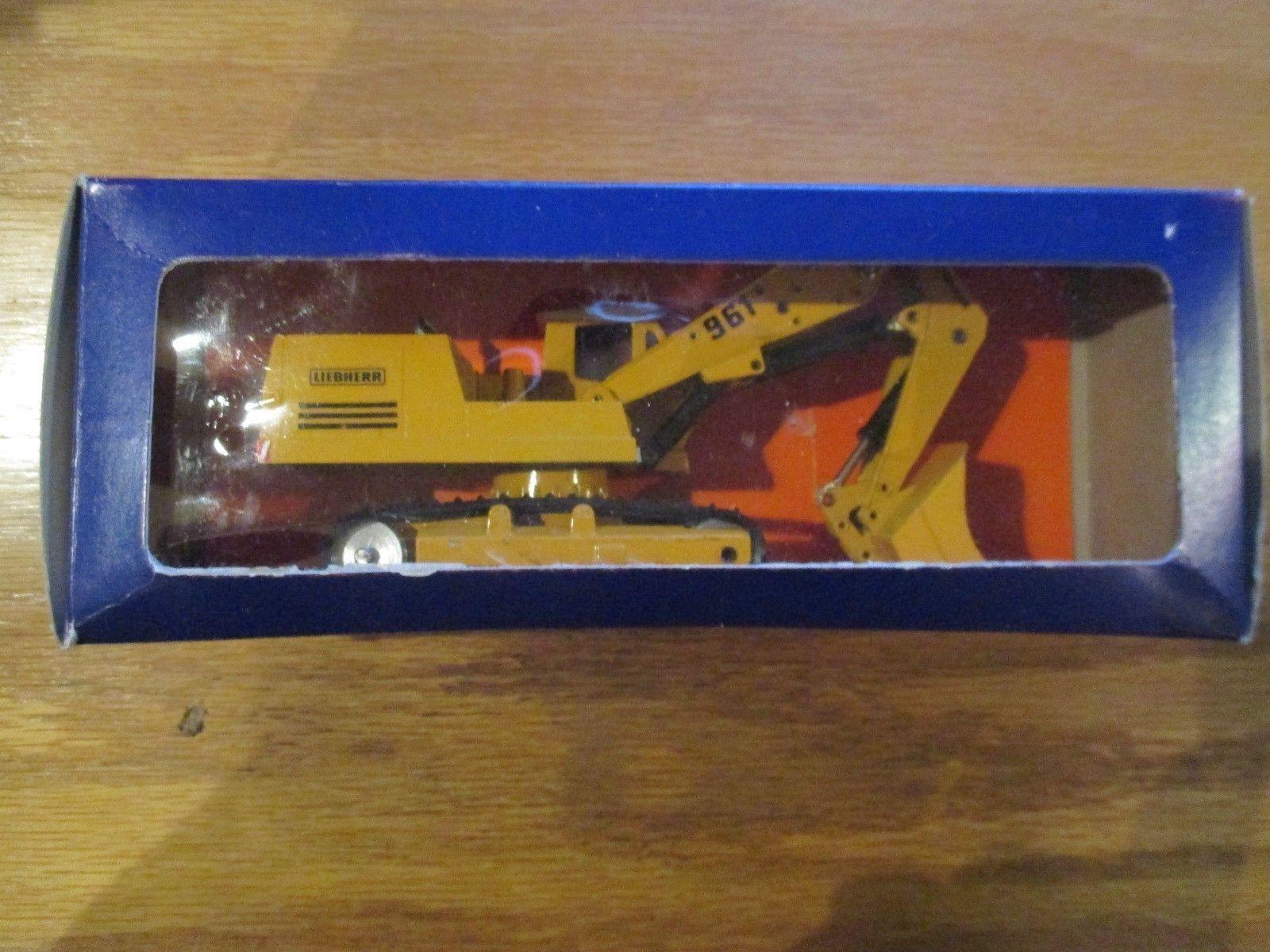 Vintage Gescha 1 50 Diecast 961 Excavator High spoon w Free ship