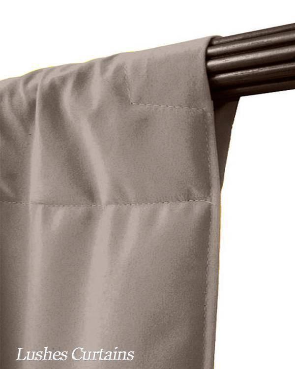488cm H Beige Samt Vorhang lange Panel XL hoch hoch hoch hoch stagging Vorhänge ece06e