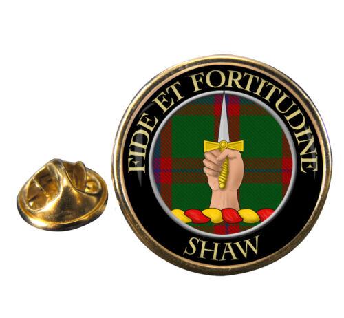 Shaw Scottish Clan Crest Lapel Pin Badge