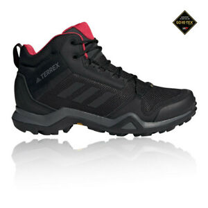 Adidas-Para-Mujer-Terrex-AX3-Mid-Gore-Tex-Caminar-Botas-Negro-Deportes-al-Aire-Libre