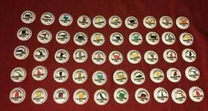 Complete-Set-of-50-States-Bottle-Caps-New