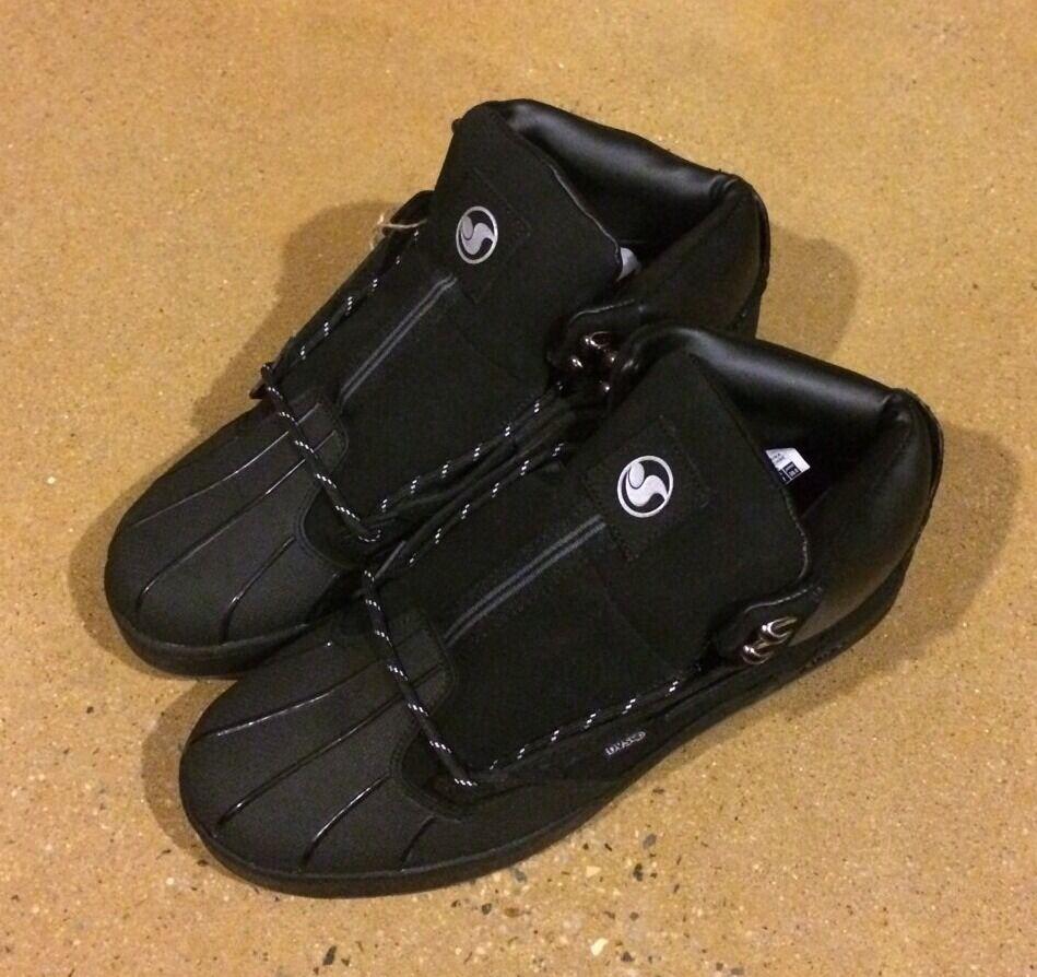 DVS Westridge Size 12 Black Nubuck BMX DC MOTO Snow Series Boots 95