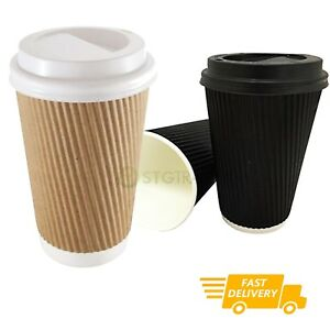 Disposable Ripple Cup With Lid