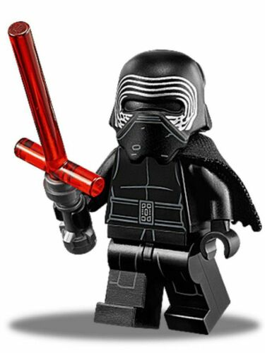 Kylo Ren With Lightsaber Minifigure minifig toy Star Wars The Last Jedi