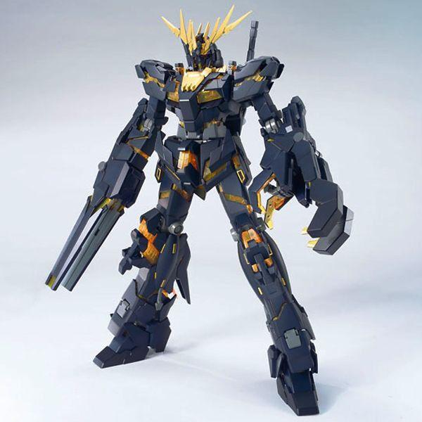 RX-0 Unicorn Gundam 02 Banshee GUNPLA MG Master Grade 1 100 BANDAI