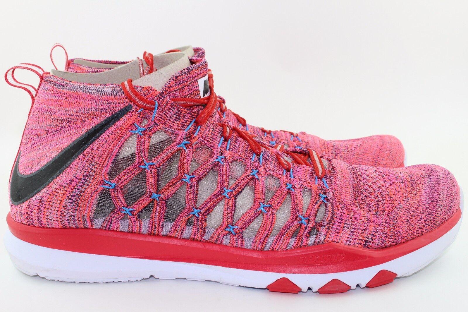 Nike treno ultrafast flyknit uomini dimensioni flum nebbia nuovo comodo alla moda