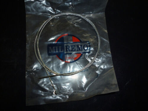 VINTAGE 0.90m Milremo front deraileur gear cable RACING SPORTS CYCLE BICYCLE x 2