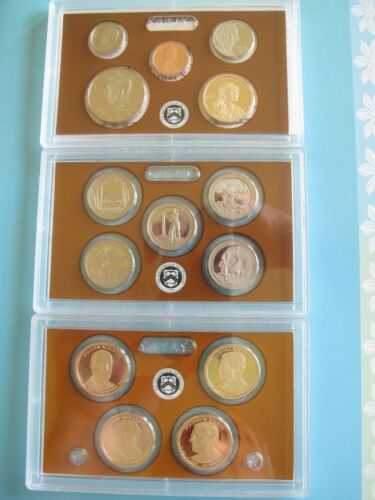2013-S U.S MINT PROOF SET 14 CLAD COINS ORIGINAL PACKAGING with CERTIFICATE P15