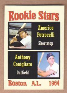 RICO PETROCELLI/TONY CONIGLIARO '64 BOSTON RED SOX THE ROOKIES SERIES #1