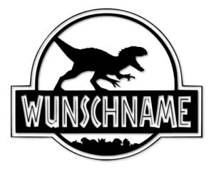 Jurassic-World-Wunschname-Aufkleber-Kinderzimmer-Fun-Sticker-decal-24-8255