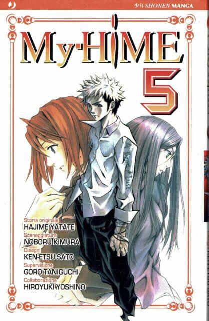 My-Hime  5 di Hajime Yatate, Noboru Kimura SCONTO 50% ed. JPop