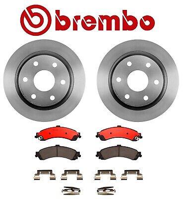 For Cadillac Chevrolet GMC Yukon 330mm Rotor; 28.5 mm Discard Rear Brake Disc