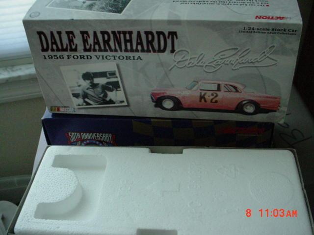 Dale  Earnhardt La première voiture de course-FORD 1956 -  K-2  - par Action édition limitée  grandes marques vendent pas cher