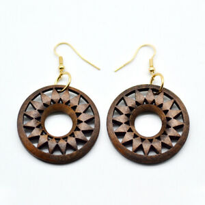 Filigree-Rosetee-Wood-Earrings-for-Women-Cut-Out-Wooded-Floral-Jewelry-Accessory