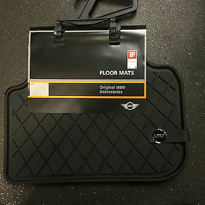 MINI Genuine All Weather Rear Rubber Floor Mats F54 Clubman 51472408523