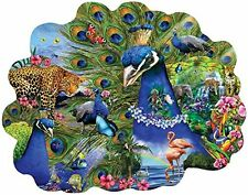 Proud Peacock a 1000-Piece Jigsaw Puzzle by Sunsout Inc.