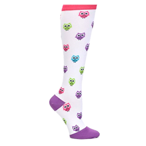 6d611bcd54 Image is loading Nurse-Mates-Womens-Compression-Trouser-Socks -Microfiber-Bright-