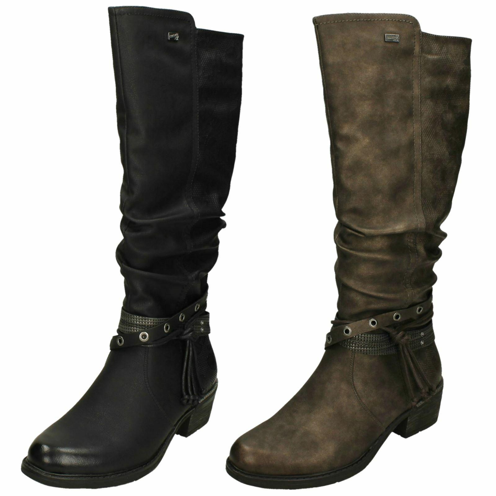 Schwarz Spitz Stiefeletten Damen Schuhe Chelsea Block Absatz Elegante Gr.34-40