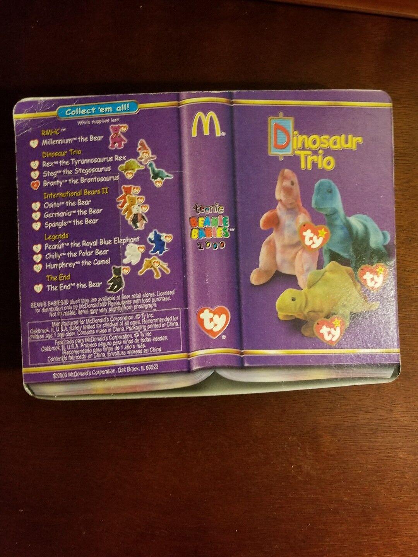 Ty Teenie Beanie Babies BRONTY. BRONTY. BRONTY. McDonalds. 1999 I Ship Worldwide Endometriosis cc4e04