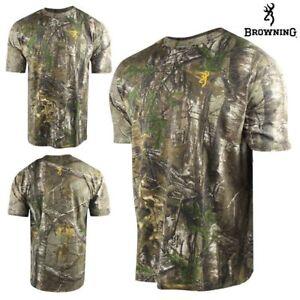 834b46faaa426 NEW Browning Wasatch Realtree Xtra Camo Short Sleeve T-Shirt 2XL XXL ...