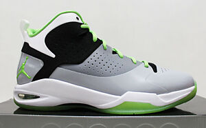 quality design 95ab8 bf4dd Image is loading NIB-JORDAN-FLY-WADE-RADIANT-GREEN-2010-2011-