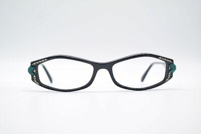 Intelligente Vintage Schiafrarelli Sc658 G70 53 [] 17 140 Nero Ovale Occhiali Eyeglasses Nos- Ultimo Stile