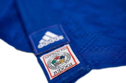 JIJFB Judo Anzug adidas Judoanzug CHAMPION II IJF blauweiße