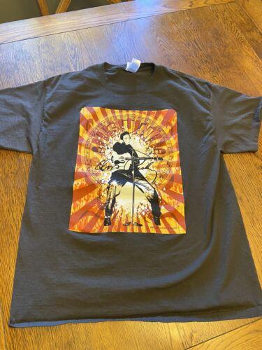 Elvis Presley Sun Records Graphic Shirt Sz L
