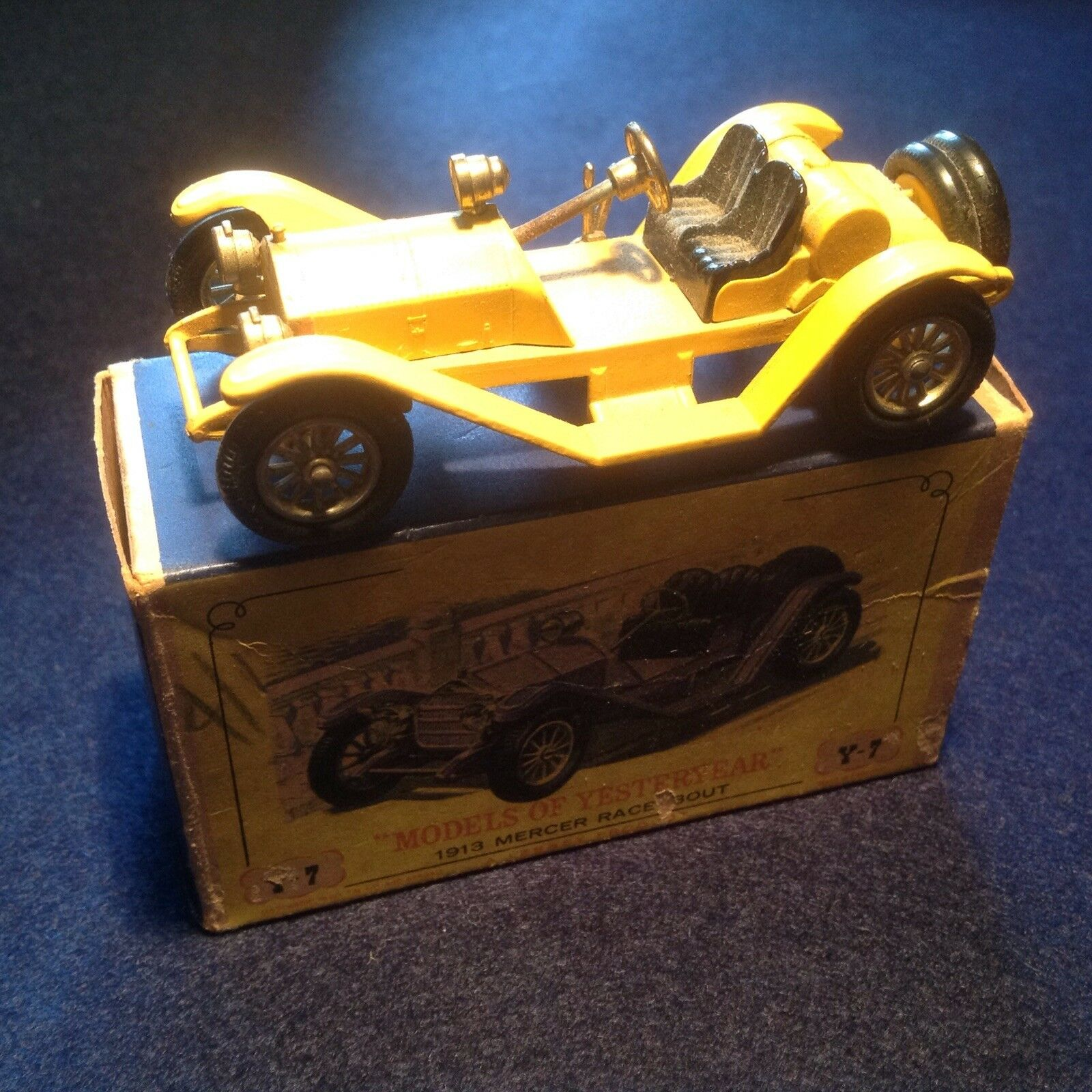 MATCHBOX 1913 MERCER RACEABOUT Y7-2 MODELS OF YESTERYEAR MINT IN  ORIGINAL BOX