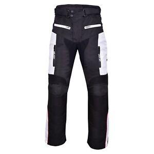 Moto-Motocicleta-Textil-Impermeable-600D-CORDURA-CE-aprobado-Pantalones-Pantalones