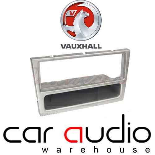 Vauxhall Vivaro Corsa Astra Vectra Meriva Car Stereo Fascia Panel Silver Metalic