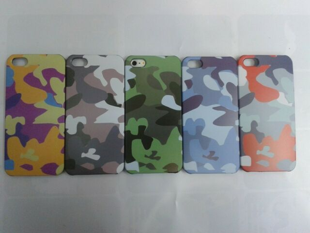New Cool Stylish Jungle Army Camo Hard Cover Back Case For Apple iPhone 5 5G