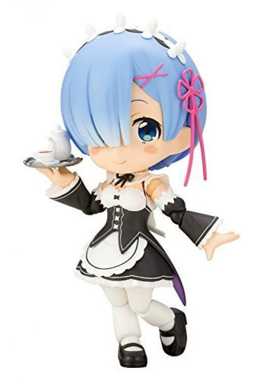 Nuevo Kotobukiya Cu-Poche Re  Zero -starting Vida en Otro World- Rem De