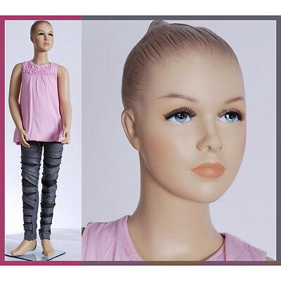 Girl-12  Schaufensterpuppe Kinderpuppe  Mannequin Kinder Kid mannequincm 146cm