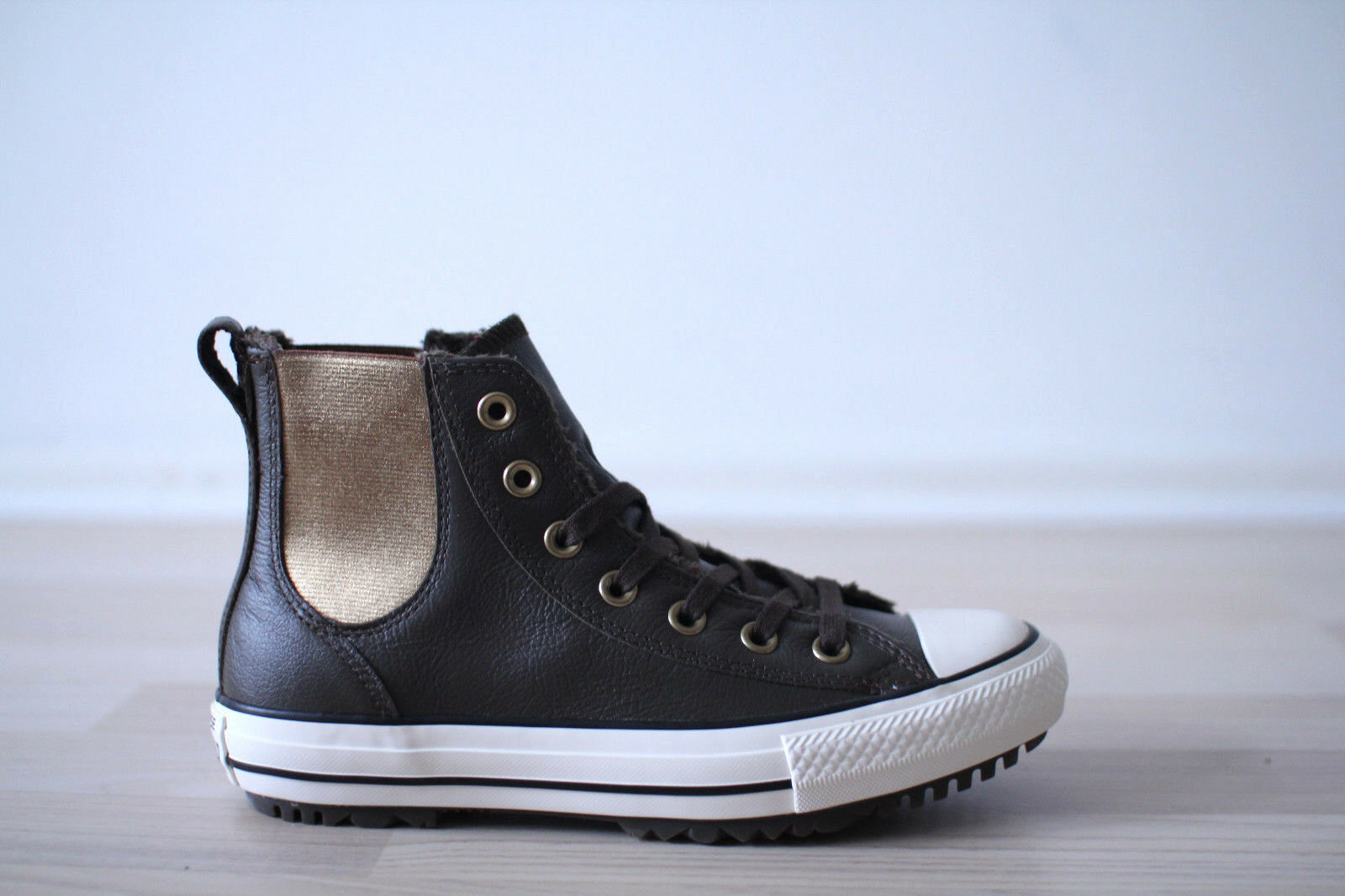 Converse Chuck Taylor All Star Chelsea avvio HIGH MarroneeE TG. 37,38 NUOVO & OVP