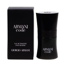 Giorgio Armani Code 30ml Eau De Toilette EDT Spray For Men