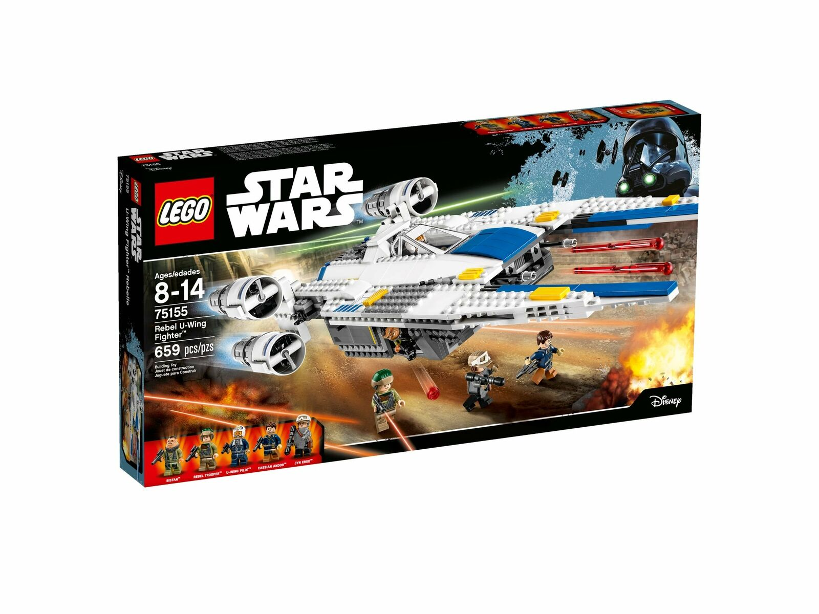 Lego 75155 Star Wars Rebel U-Wing Fighter, Rogue One