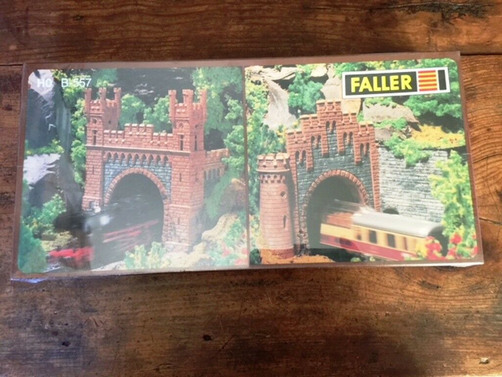 Faller  Tunnel Portals tunnel mouths Loreley  HO b-557 Sealed in Box