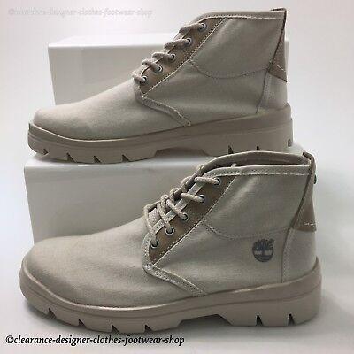 Timberland City Blazer D'été Bottes Chukka blanc homme Desert Boots Chaussures RRP £ 100 | eBay