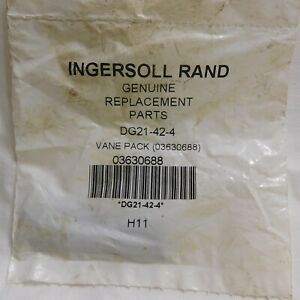 Ingersoll Rand Vane Pack 03630688 Part# DG21-42-4 (Pkg of 4)